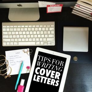 tips on writing a successful cover letter