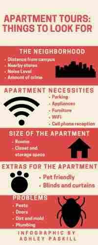 Touring An Apartment: Things To Look For | College News
