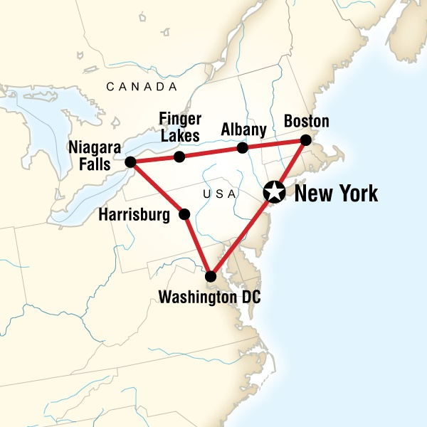Amish Communities In Usa Map.Tour East Coast Usa Sonoma State University Sonoma State Student