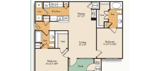 2 bedroom Waltham