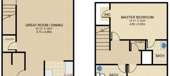2 bedroom New Richmond