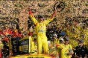 Joey Logano Wins in Kansas, Advances to Eliminator Round