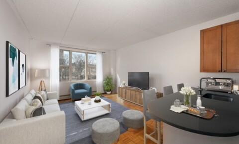 Apartments Near Baruch TRIBECA'S HOTTEST AREA! Super Spacious 1 Bed Avail Now at Saranac. Landscaped Roof Deck, Drmn, Free Fitness, Garage. NO FEE! for Bernard M Baruch College Students in New York, NY