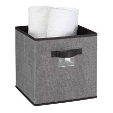 Storage Box - Cube - Joni Grey Citron