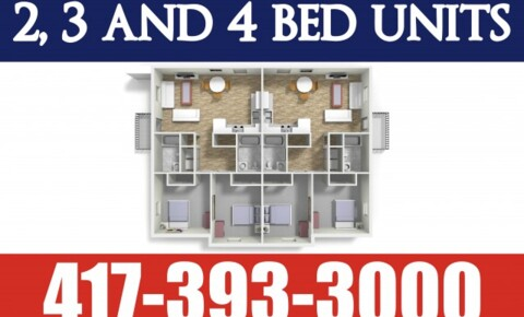 Apartments Near Missouri Pre Leasing Now! Newest, Largest, Closest Units to MSU! for Missouri Students in , MO