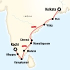 Southern India & East Coast by Rail