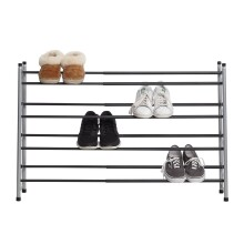 4 Tier Expandable Grip Shoe Rack