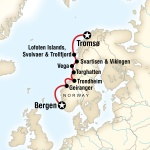 Cruise the Norwegian Fjords - Tromsш to Bergen