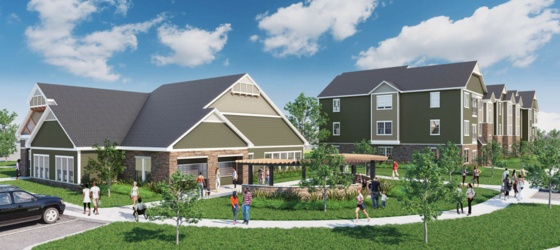 Housing Near Mount Holyoke North 116 Flats - Amherst's Brand New Student Living Community - Now Leasing